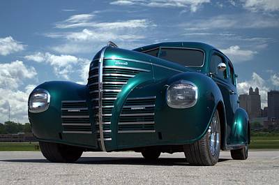 Photograph - 1939 Plymouth Sedan Hot Rod by Tim McCullough