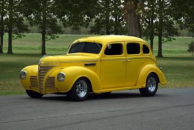 Photograph - 1939 Plymouth Sedan by Tim McCullough