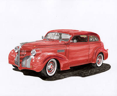 Firefighter Patents Royalty Free Images - 1939 Pontiac Street Rod Royalty-Free Image by Jack Pumphrey