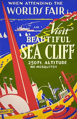 1939 Sea Cliff - Worlds Fair Celebration Art Print by American Classic Art
