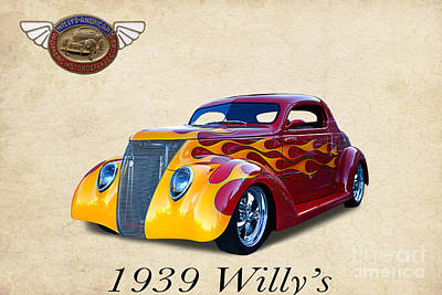1939 Willy's Art Print by Jim  Hatch
