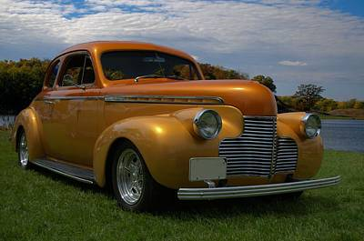 Photograph - 1940 Chevrolet Hot Rod Coupe by TeeMack