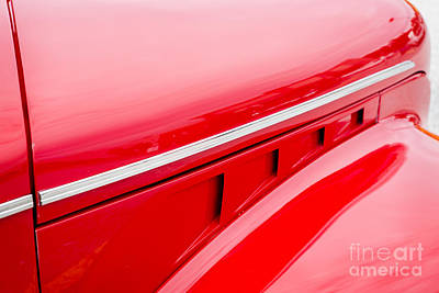 Photograph - 1940 Chevrolet Master Classic Hood  Color  3114.02 by M K Miller