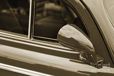Photograph - 1940 Chevrolet Master Classic Mirror  Sepia  3113.01 by M K Miller