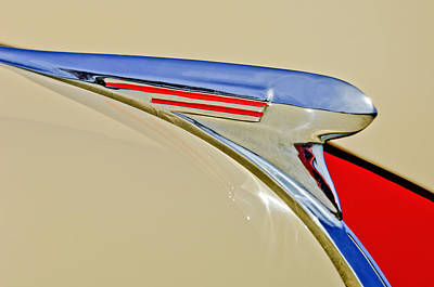 Hoodies Photograph - 1940 Chevrolet Pickup Hood Ornament 2 by Jill Reger