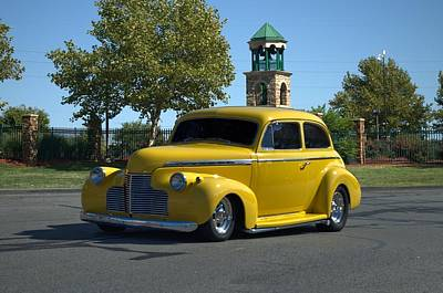 Photograph - 1940 Chevrolet Sedan Street Rod by Tim McCullough