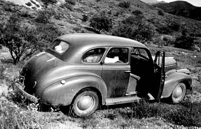 Photograph - 1940 Chevrolet Special Deluxe 4 Door by Larry Ward