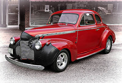 Recent Photograph - 1940 Chevy Coupe by Marcia Colelli