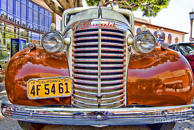 Photograph - 1940 Chevy Sedan by Jason Abando