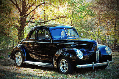 Photograph - 1940 Ford Coupe  by Jeanne May