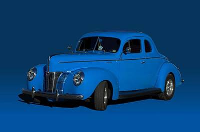 Photograph - 1940 Ford Custom Coupe Hot Rod by Tim McCullough