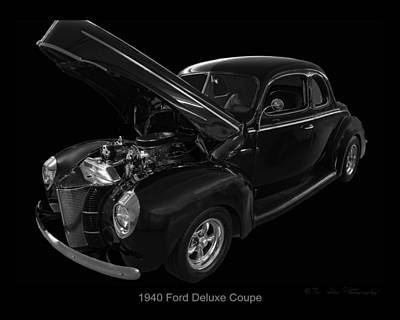 Digital Art - 1940 Ford Deluxe by Chris Flees