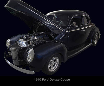 1940 Ford Deluxe Coupe Original by Chris Flees
