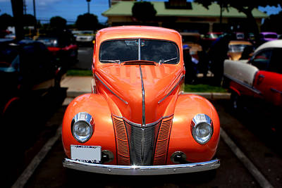Photograph - 1940 Ford by John Orsbun