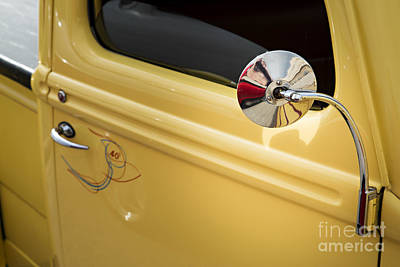 Photograph - 1940 Ford Pickup Truck Mirror Car Or Automobile In Color  3138.0 by M K Miller