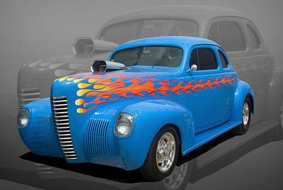 Photograph - 1940 Nash Coupe Hot Rod by TeeMack