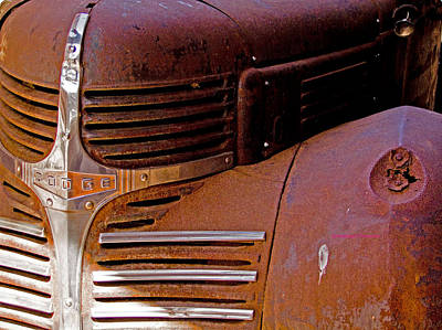 Digital Art - 1940 Rusted Dodge Truck by Marvin Blaine