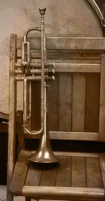 1940ish Trumpet Art Print by Thomas Woolworth