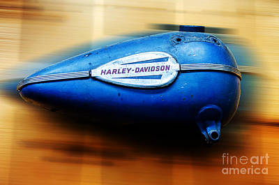 Photograph - 1940s Harley Tank by Paul Mashburn