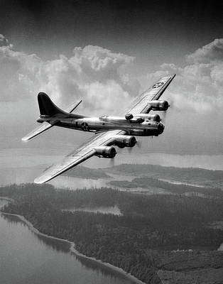 World War Ii Airplane Photograph - 1940s Us Army Aircraft World War II by Vintage Images