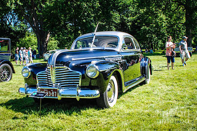 Photograph - 1941 Buick Special Sedanette by Grace Grogan