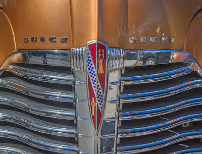 Photograph - 1941 Buick Super Grill by Roger Mullenhour