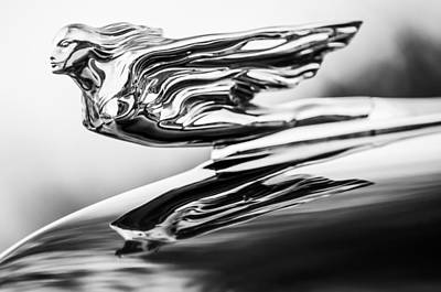 1941 Cadillac Hood Ornament 4 Art Print