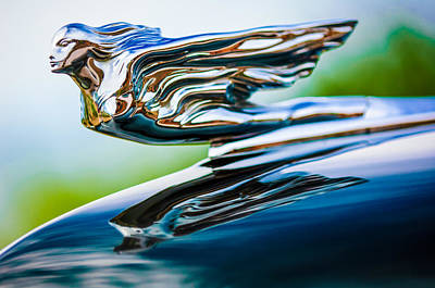 1941 Cadillac Hood Ornament 5 Art Print