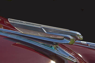 1941 Chevrolet Hood Ornament Art Print