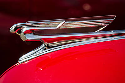 Photograph - 1941 Chevrolet Hood Ornament by Ron Pate