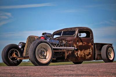 Photograph - 1941 Chevrolet Rat Rod Pickup by Tim McCullough