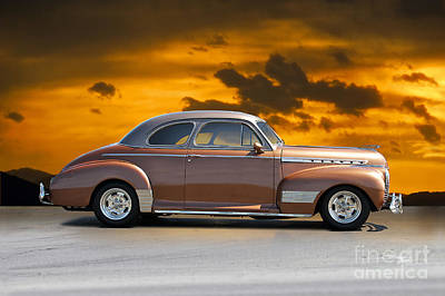 Winter Animals Rights Managed Images - 1941 Chevrolet Special Deluxe Coupe III Royalty-Free Image by Dave Koontz