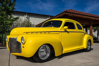 Photograph - 1941 Chevy Coupe by Ron Pate