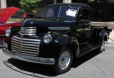 1941 Gmc Pick Up Truck Original by Suzanne Gaff