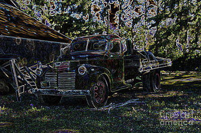 Photograph - 1941 Gmc Truck Graphic by Louise Magno