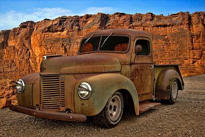 Photograph - 1941 International Pickup by Tim McCullough