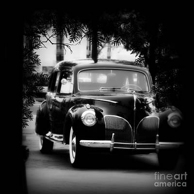 Photograph - 1941 Lincoln Limo Anyone by Bobbee Rickard