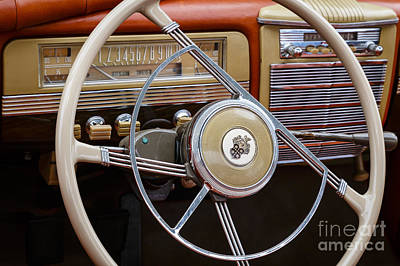 Photograph - 1941 Packard Steering by Dennis Hedberg