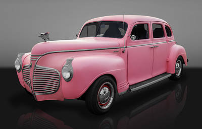 1941 Plymouth 4 Door Sedan Art Print