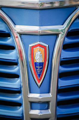Photograph - 1941 Plymouth Pickup Truck Emblem by Jill Reger