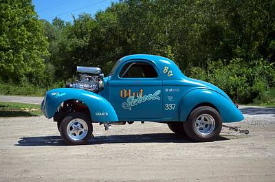 Photograph - 1941 Willys Dragster by Tim McCullough