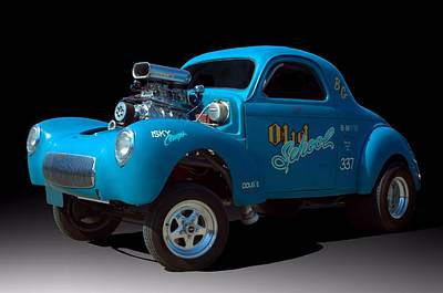 Photograph - 1941 Willys Pro Street Dragster by Tim McCullough