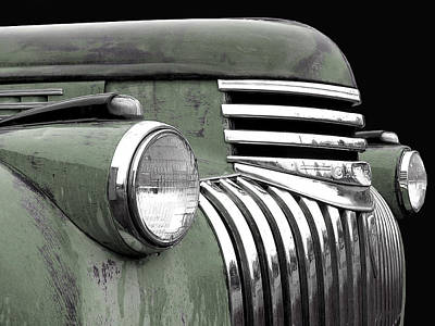 Photograph - 1942 Chevrolet - Sage Green by Larry Hunter