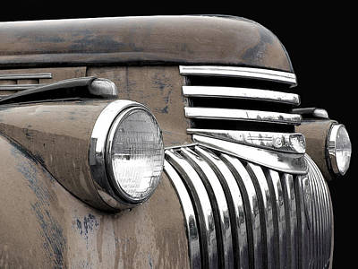 Photograph - 1942 Chevrolet - Sepia by Larry Hunter