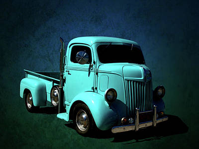 Photograph - 1942 Ford Coe Pickup Truck by Tim McCullough