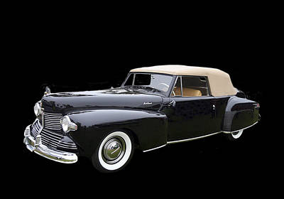 Photograph - 1942 Lincoln Continental Cabriolet by Jack Pumphrey