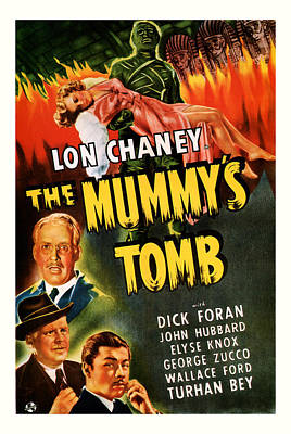1942 The Mummys Tomb Vintage Movie Art Art Print by Presented By American Classic Art