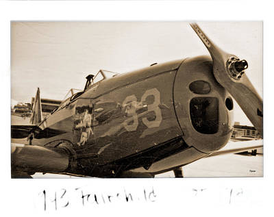 World War 2 Photograph - 1943 Fairchild  by Steven Digman