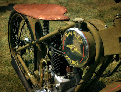Photograph - 1944 Simplex Sport 2.0 by Michelle Calkins