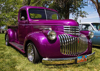 Chev Pickup Photograph - 1946 Chevrolet Pickup Truck by Nick Gray